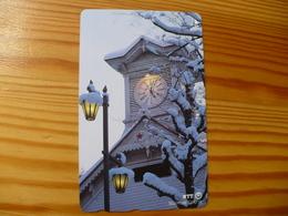 Phonecard Japan 430-161 Sapporo, Clock - Japan