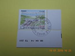 FRANCE 2014   YTN° 4861   20eme ANN.TUNNEL SOUS LA MANCHE    TN Oblitéré  Daté - France