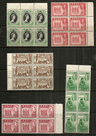 FIJI Block Of SIX,  Lot De 30 Beaux Timbres Des Iles FIDJI, Neufs ** Bord De Feulle.  Côte 35,00 Euro - Fidji (1970-...)
