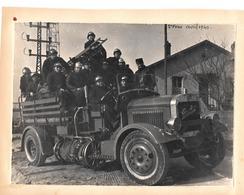 Pompiers 1940 - Véhicule BERLIET - War, Military