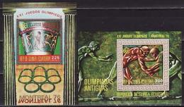 Equatorial Guinea, 1975, Summer Olympics 1976 2 Blocks - Ete 1976: Montréal