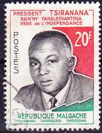 Madagaskar - Präsident Tsiranana (Mi.Nr.: 465) 1960 - Gest Used Obl - Madagascar (1960-...)