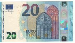 "20 EURO  ""France""  Firma DRAGHI   U 009 F5     UE1327008455 /  FDS - UNC - EURO"