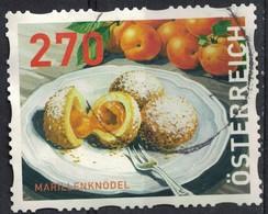 Autriche 2018 Oblitéré Rond Used Gâteaux Ronds à L'Abricot Marillenknödel SU - 1945-.... 2ème République