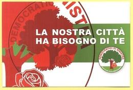 Tematica - Partiti Politici - Elezioni - DS - Formigine - La Nostra Città Ha Bisogno Di Te - Referendum - Not Used - Political Parties & Elections