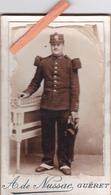 23-GUERET-PHOTO CDV MILITAIRE-78 ème R.I.- PHOTO A. De NUSSAC-GUERET- - War, Military
