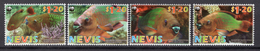2007 - NEVIS - Catg.. Mi. 2208/2211 - NH - (CW1822.17) - St.Kitts And Nevis ( 1983-...)