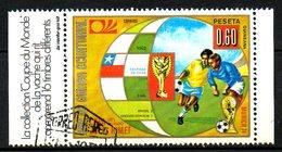 GUINEE EQUATORIALE. Timbre Oblitéré De 1974. Finale De La Coupe Du Monde 1962. - 1962 – Cile