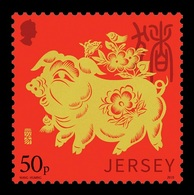 Jersey 2019 Mih. 2273 Lunar New Year. Year Of The Pig MNH ** - Jersey