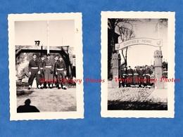 2 Photos Anciennes - RAVENSBURG ? - Groupe De Soldat Du 3e Bataillon De Chasseurs Quartier Pierre - War, Military
