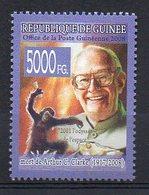 GUINEA BISSAU. ARTHUR C. CLARKE. MNH (2R2743) - Ecrivains