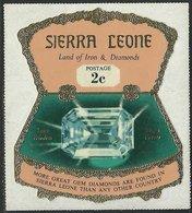 Sierra Leone 1970 - Diamonds Diamants - Minerals Minéraux - Timbre Neuf Avec Trace De Charnière. - Minerali
