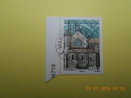 FRANCE 2014   YTN° 4864   ABBAYE DE PONTIGNY    TN Oblitéré  Numéroté - France