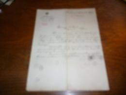 FF5  Document Commercial Facture Pharmacie E Pelerin  Bruxelles 1903 - Belgique