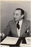 PHOTO ORIGINALE (11X17) CESAR MERZAGORA Homme D Etat Italien - Identified Persons