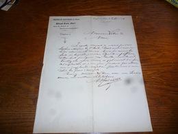 FF5  Document Commercial Facture Pharmacie Alfred Petit Heyst Sur Mer 1904 - Belgique