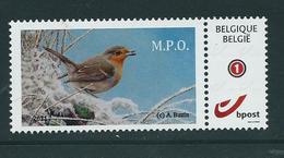 Duostamp  Neuf (**)   Avec N° 4183 (auto-adhésif) M.P.O.     De 2011 - 1985-.. Oiseaux (Buzin)