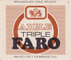 Br. Aigle-Belgica (Brugge) - Aigle Triple Faro Kruger - Bière