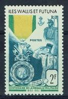 Wallis And Futuna,  French Military Medal Centenary, 1952, MNH VF - Wallis And Futuna
