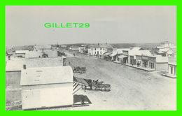 GOODLAND, KANSAS - 1890 STREET SCENE LOOKING NORTH FROM 11th & MAIN CENTER - ANIMATED - ARTVUE POST CARD - - Etats-Unis