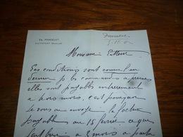 FF5  Document Commercial Facture Em Poncelet Boitsfort 1902 - Belgique