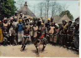 Danses De Jeunes Fille Bassari Seins Nus - Togo