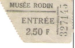 Musée Rodin - Tickets - Entradas