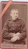 PHOTO ORIGINALE 19ème CDV MILTAIRE-32ème R.A.M.-1896-Photo E. BOUCHER ORLEANS- - War, Military