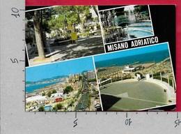 CARTOLINA VG ITALIA - MISANO ADRIATICO (RN) - Vedutine Multivue - 10 X 15 - ANN. 2001 CARTA DIRITTI FONDAMENTALI - Rimini