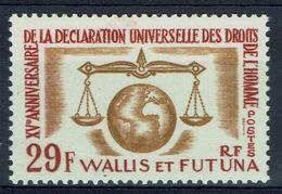 Wallis And Futuna,  Universal Declaration Of Human Rights, 1963, MNH VF - Wallis And Futuna