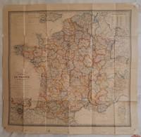 Carte Routière De France, Années 50- 60 - Cartes Routières