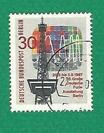 * 1967 N° 284 EXPOSITION NATIONALE DE RADIODIFFUSION   OBLITÉRÉ   TB - [5] Berlin