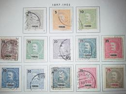 Lot Stamps Funchal Portuguesa    1897 - Briefmarken
