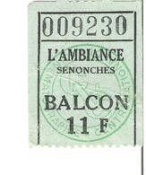 L'Ambiance SENONCHES - Eintrittskarten