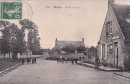 MOISY       ROUTE D ORME.      LA POSTE - France