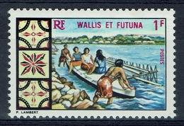 Wallis And Futuna,  Canoe, 1969, MNH VF - Wallis And Futuna