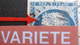 DF50478/55 - CERES N°4 - LPC - VARIETE ➤➤➤ ANNEAU LUNE - Cote > à 65,00 € - 1849-1850 Cérès