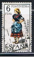 2E 241 // YVERT 1607 //  EDIFIL 1950 // 1970  ... COSTUME PONTEVEDRA - 1931-Aujourd'hui: II. République - ....Juan Carlos I