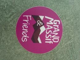 Autocollant Grand Massif - Stickers