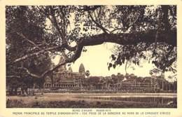 CAMBODGE Cambodia - ANGKOR VATH : Ruines Angkor - Façade Principale - CPA - Kambodscha Cambodgia Cambodja - Cambodia