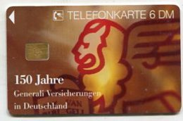 TK 37938 GERMANY - O 821 05.95 Gernerali Versicherungen 20 100 Ex. - Germany