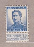 1912 Nr 125* Met Scharnier .zegel Uit Reeks Pellens. - 1912 Pellens