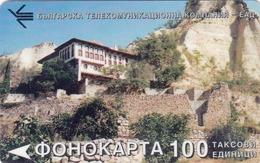 BULGARIA - Monastery 4, BTC Magnetic Telecard ,100 Units, Tirage 30000, Used - Bulgaria