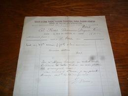 FF5  Document Commercial Facture Ed Reno Pharmacien Gand 1902 - Belgique