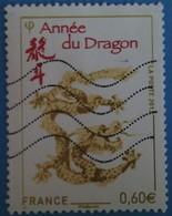 France 2012 : Année Lunaire Chinois Du Dragon N° 4631 Oblitéré - France