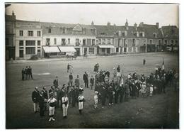 28- NOGENT LE ROTROU - Place Sain Pol - Cérémonie Commémorative - Photographs