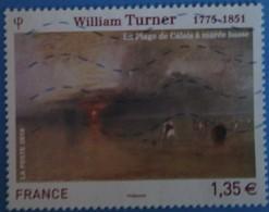 France 2010 : Série Artistique, William Turner N° 4438 Oblitéré - France