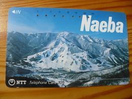 Phonecard Japan 270-048 Naeba - Japan