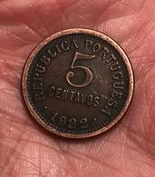 5 Centavos - 1922 - Portugal - Portugal
