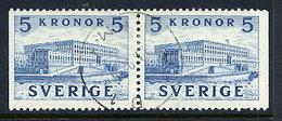 SWEDEN 1941 Royal Castle Booklet Pair Used.  Michel  285 Dl/Dr - Sweden